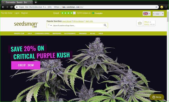 seedsman marijuana seed bank