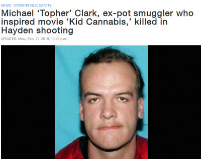 Topher Clark Kid Cannabis Killed in Shooting